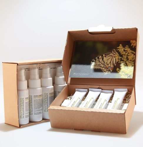 sample box 'bundle' care #1 + cleaning #1